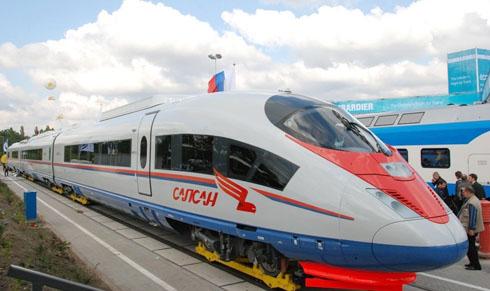 """Из Москвы в Сочи хотят запустить  """"Сапсан """" со спальными вагонами."""